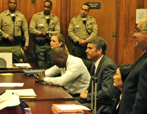 Brian Banks football in court 2