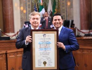 SE REUNE GOBERNADOR CON GOBERNADOR DE CALIFORNIA 1