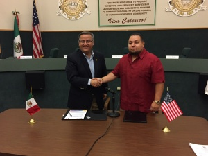 REAFFIRM SISTER CITIES AGREEMENT