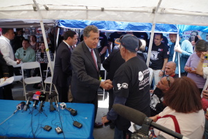 Vargas meets Deported Veterans and Families